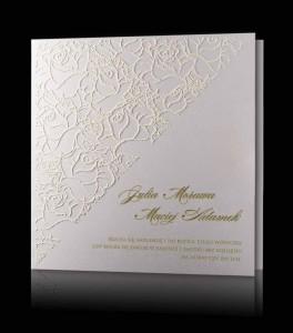 Eleganckie I Efektowne Zaproszenia ślubne Pamas